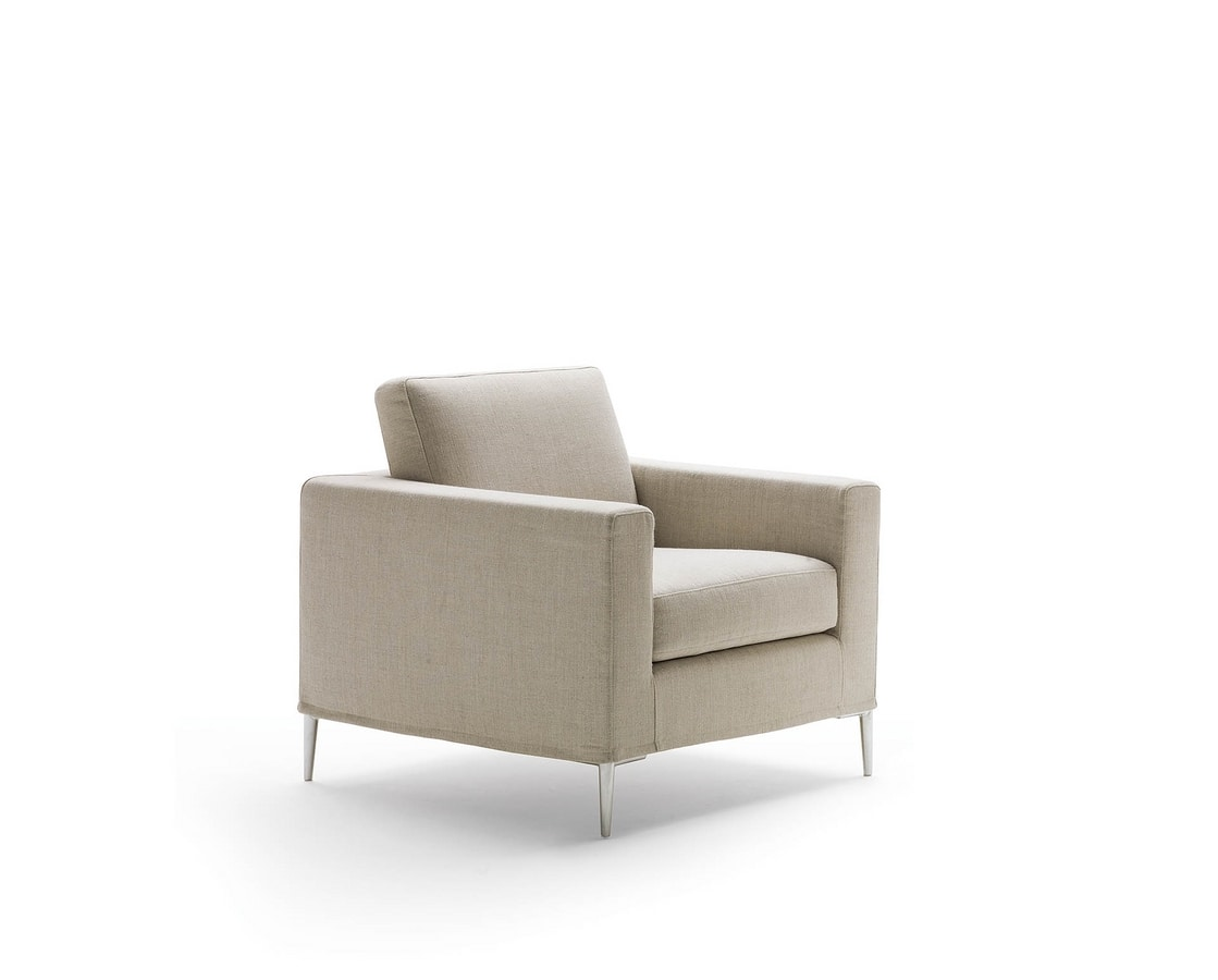 Grace, Armchair with minimal lines