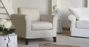 Greta, Classic armchair for living room