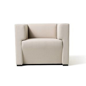 Toffee 1p, Square armchair with internal structure in multilayer