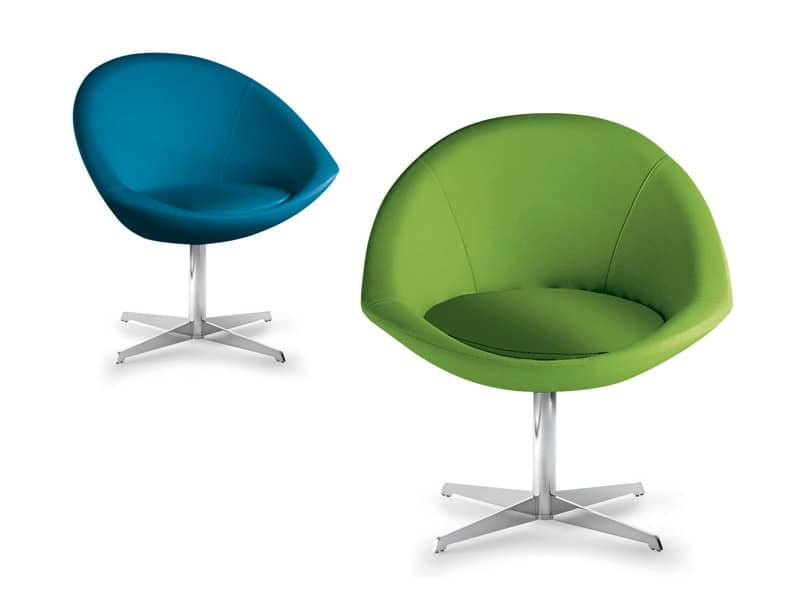 Yoga, Swivel chair for reception and contract environments