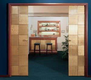 Collezione Century, Customized sliding doors, for hotel furnishing, high quality craftsmanship