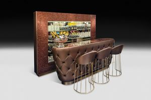 Glitter Bar, Bar furniture with glitter