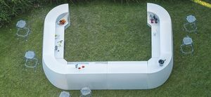 Igloo, Modular outdoor bar counter
