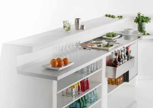 Igloo, Modular counter for outdoor use
