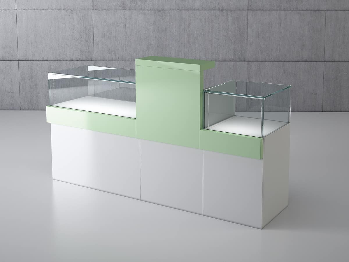 COM/QF3, Modular counter for jewelery