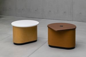 Coulis, Coffee table equippable with electrical and USB sockets