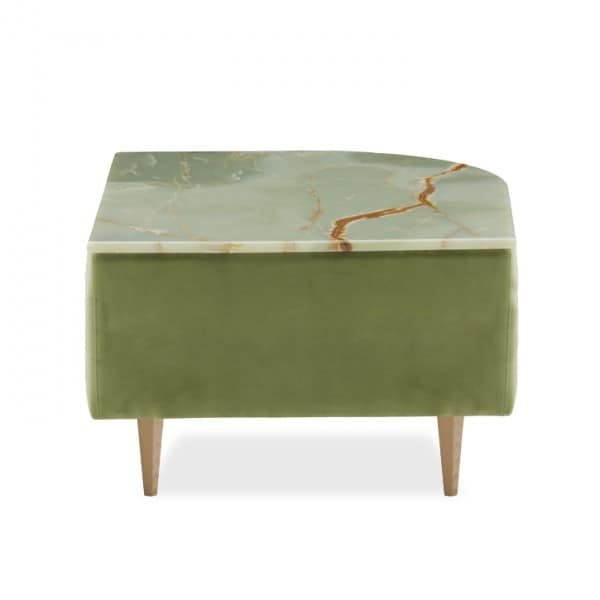 Délice 01050L - 01050M, Upholstered coffee table