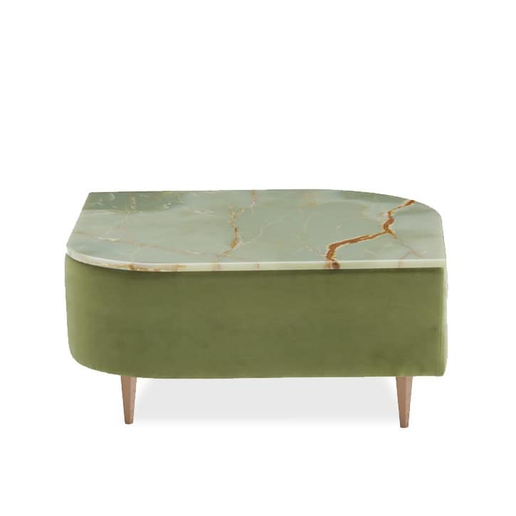 Délice 01053, Coffee table with marble or laminate top