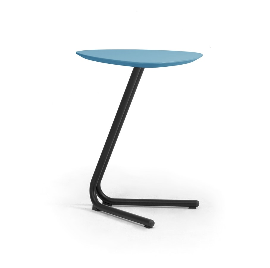 Eos, Side table suitable for sofas and poufs