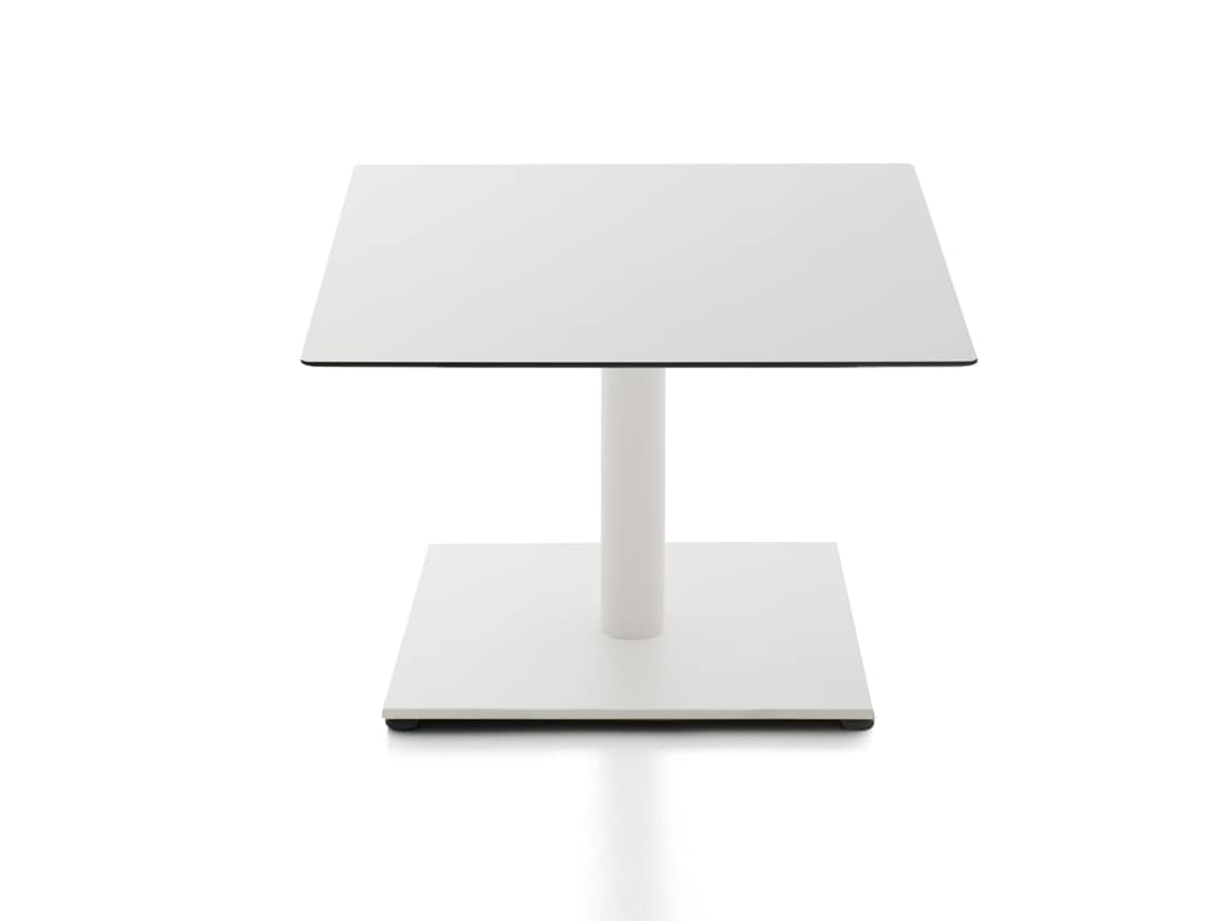 Kaleox waiting tables, Coffee tables for waiting room, with steel base