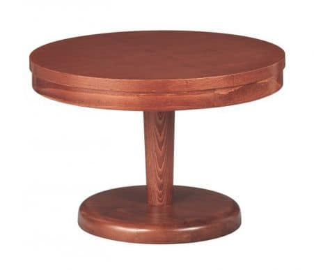 TV05, Wooden low table for hotels, ships, restaurants