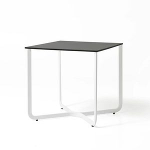 XS, Small table in metal tube, for hotel and medical office