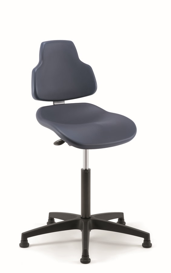 Joko 02, Adjustable stool, for shop or office