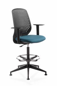 Key Smart stool, Swivel stool, for office and reception