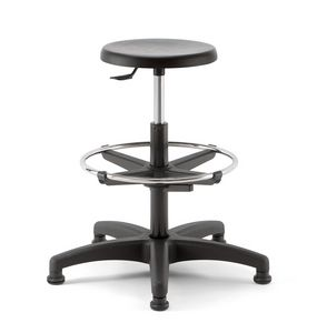 Mea 03, Swivel stool with round seat