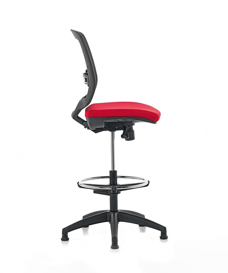 New Malice Stool 01, Ergonomic office stool