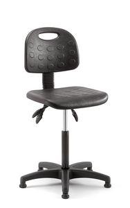 Prema 02, Stool with ergonomic adjustments