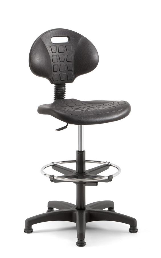 Teknik 03, Technical stool, for intensive use