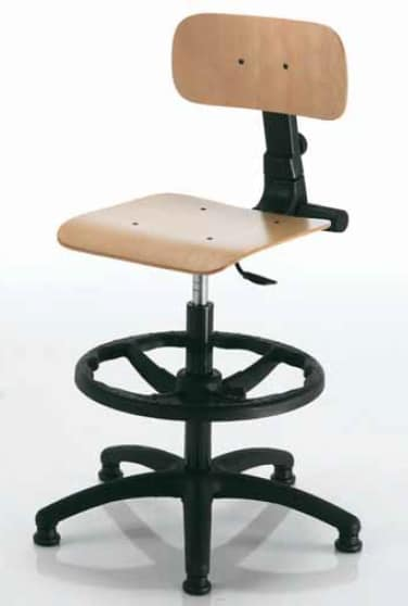 Woody-A, Adjustable office stool