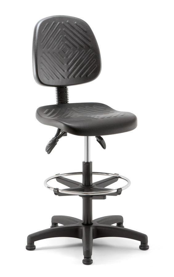 Working 03, Swivel stool for reception