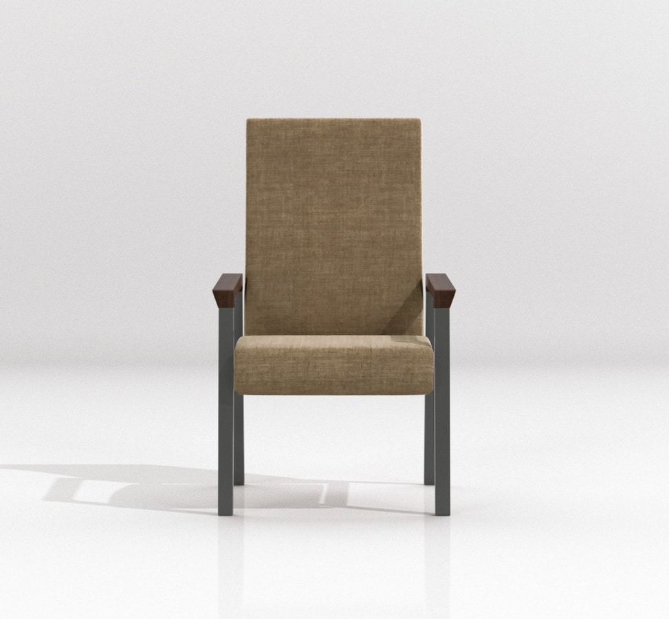 String Patient, Armchair with high back for rest home
