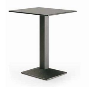 art. 4560-Quadra, Table for restaurant, with squared top