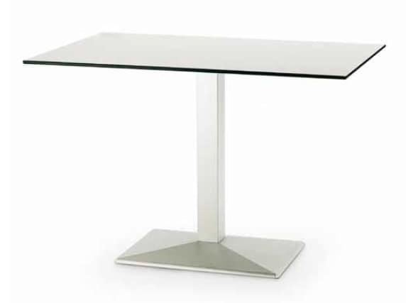 art. 4570-Quadra, Metal tables, for hotels, rectangular