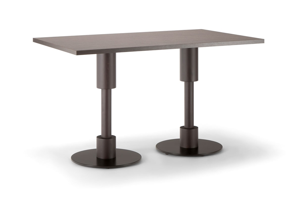 ORLANDO TABLE 081 D H75, Rectangular table for hotel and restaurant
