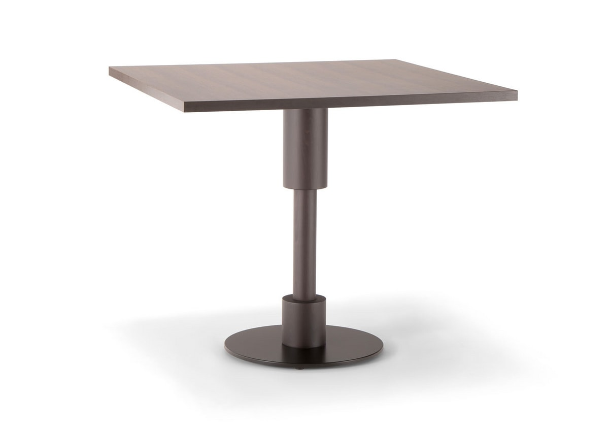 ORLANDO TABLE 081 H75, Square table for bars and restaurants