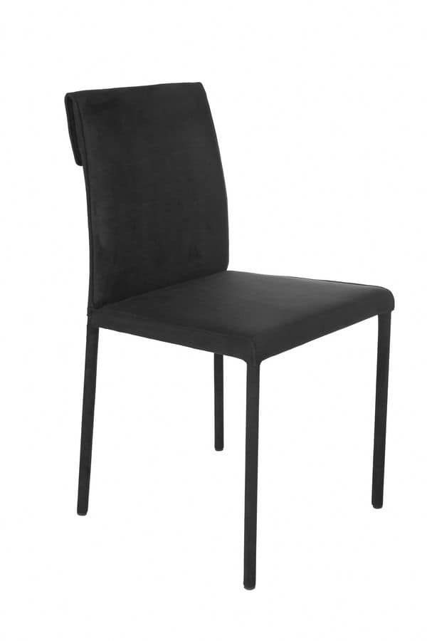 Borso low, Chair with econabuk covering suited for home
