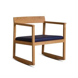 Burton 3898, Rocking armchair in wood