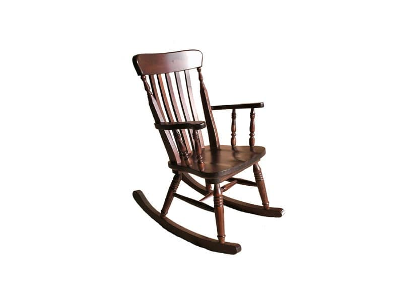 Old river, Rocking chair, in pine, for rustic tavern
