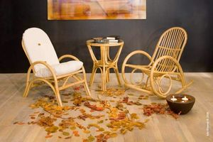 Rocking chair Germania, Rocking chair made of rattan