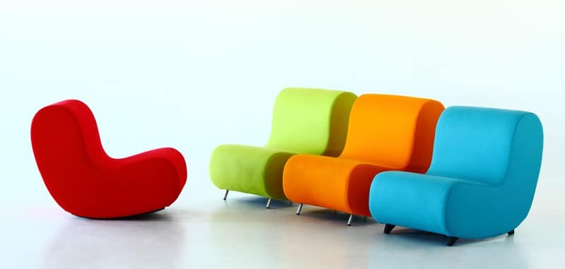 Awesome Rocking Armchair Seat Upholstered In Fireproof Foam Uwap Interior Chair Design Uwaporg