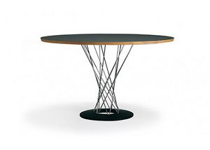 556, Round table with laminate top