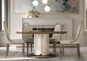 Alexander Art. A05, Round table available with Lazy Susan