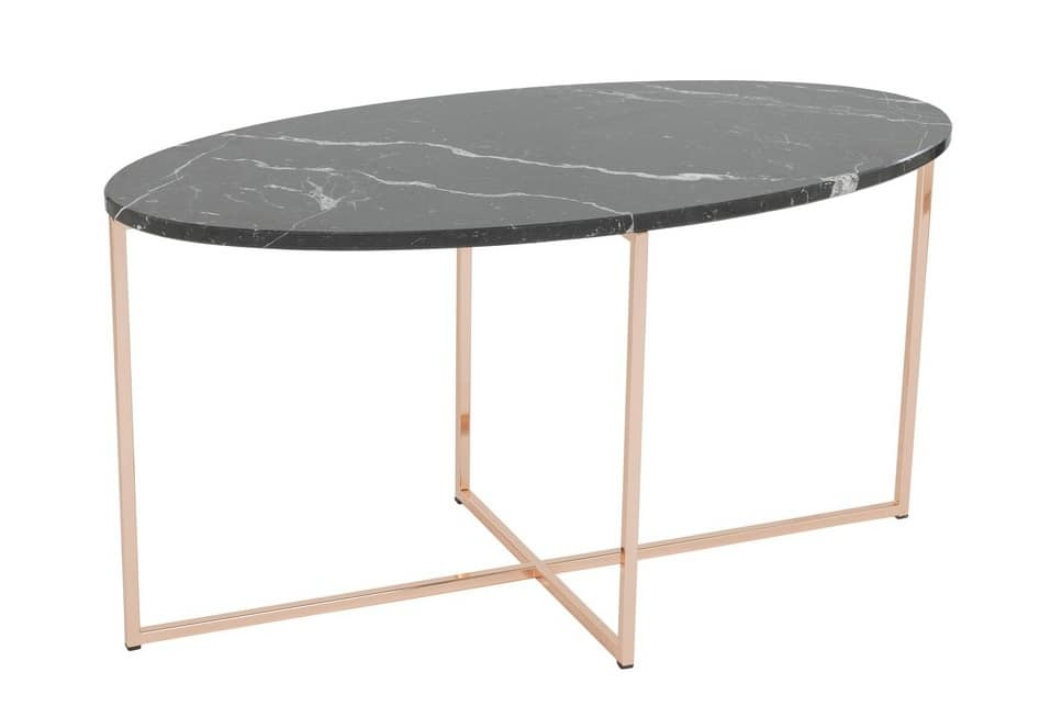 Art.Sax, Elliptical table with marble top