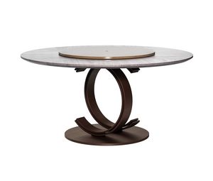 Bluemoon Art. B120 B121, Round table with Lazy Susan