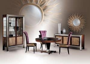 Dec� Tre Diningroom, Round dining table, classic luxury style