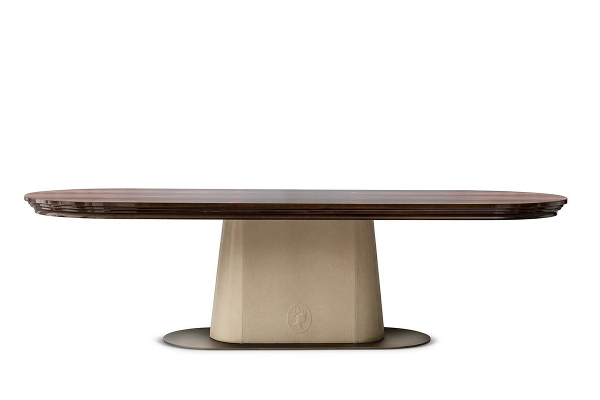 Judy, Dining table with round base
