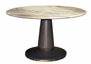 Lesotho Legend LU.0693, Round walnut table