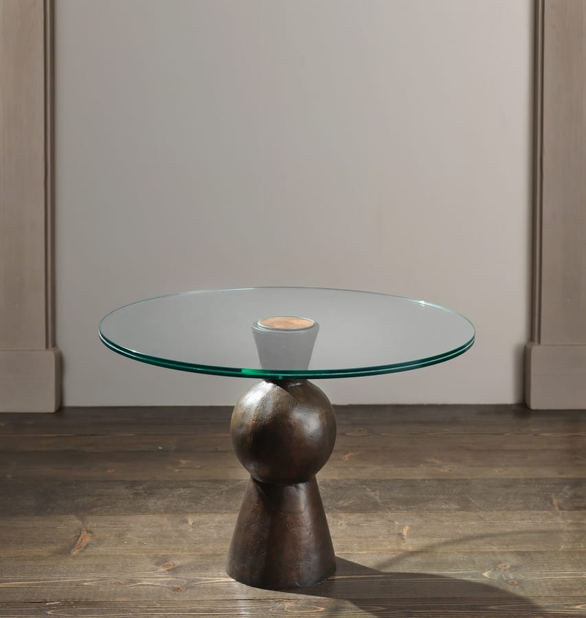 MY DANCER HF2078CT, Low table with tempered glass top