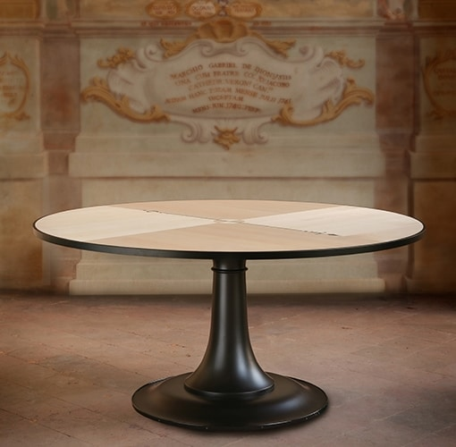 Nord Sud 5776/A, Round wooden table