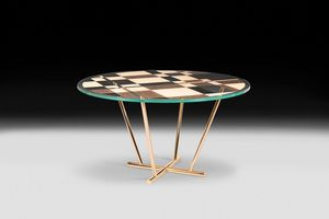 Piet, Round table with a modern and elegant design