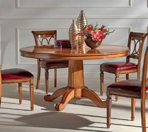 Spinapesce round table, Round dining table