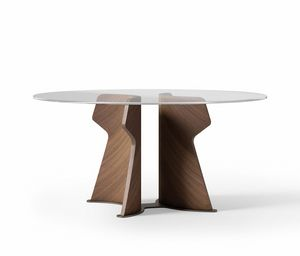 TA70 TA71 TA72 Shape table, Table with round top