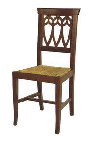 104, Rustic chair, with customizable seat