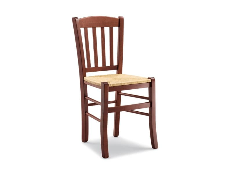 139, Rustic chair with straw seat, for taverns and inns