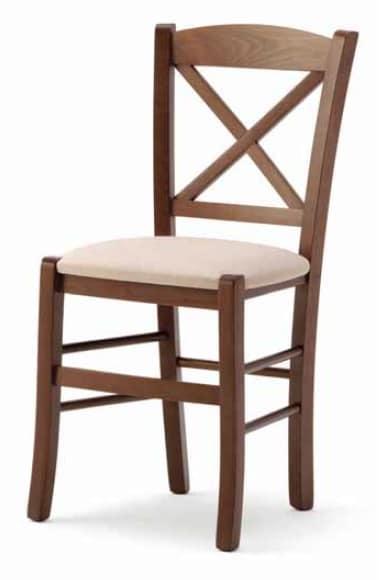 Aosta, Rustic wooden chair