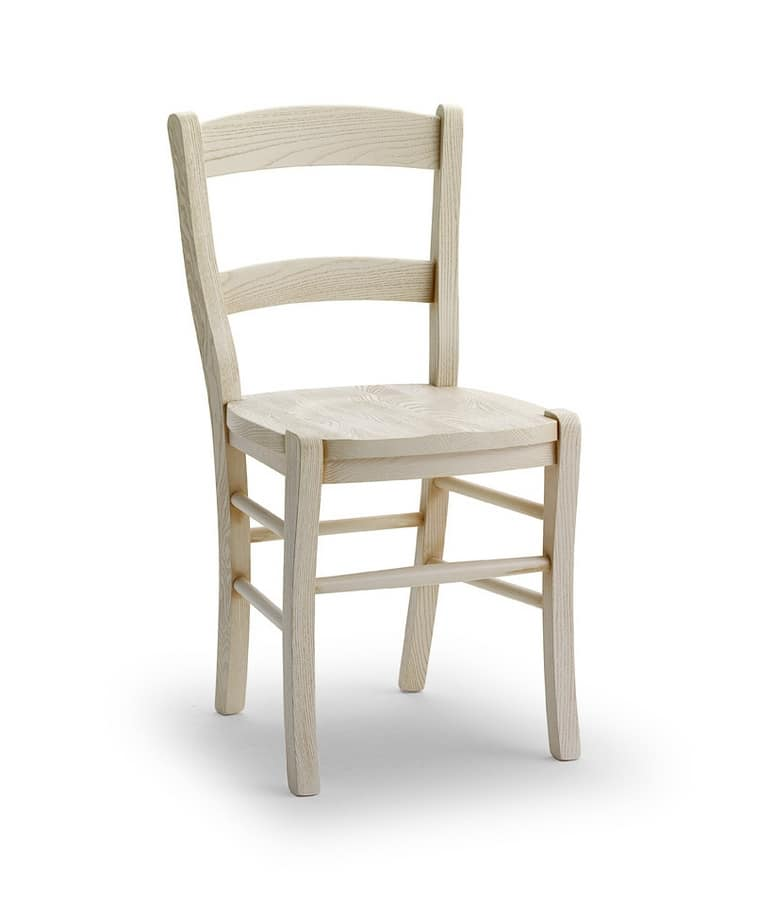 DAMA, Robust chair in solid ash wood